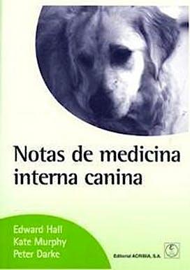 Portada del libro 9788420010724 Notas de Medicina Interna Canina