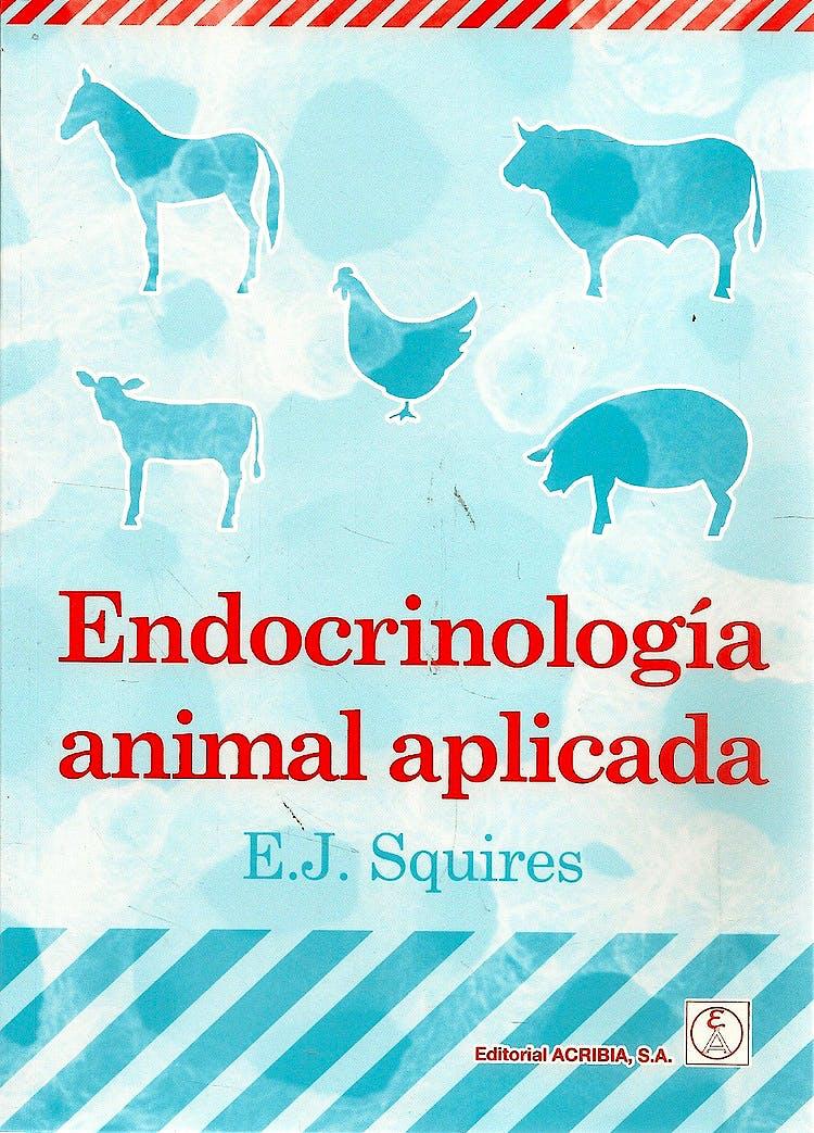 Portada del libro 9788420010748 Endocrinologia Animal Aplicada