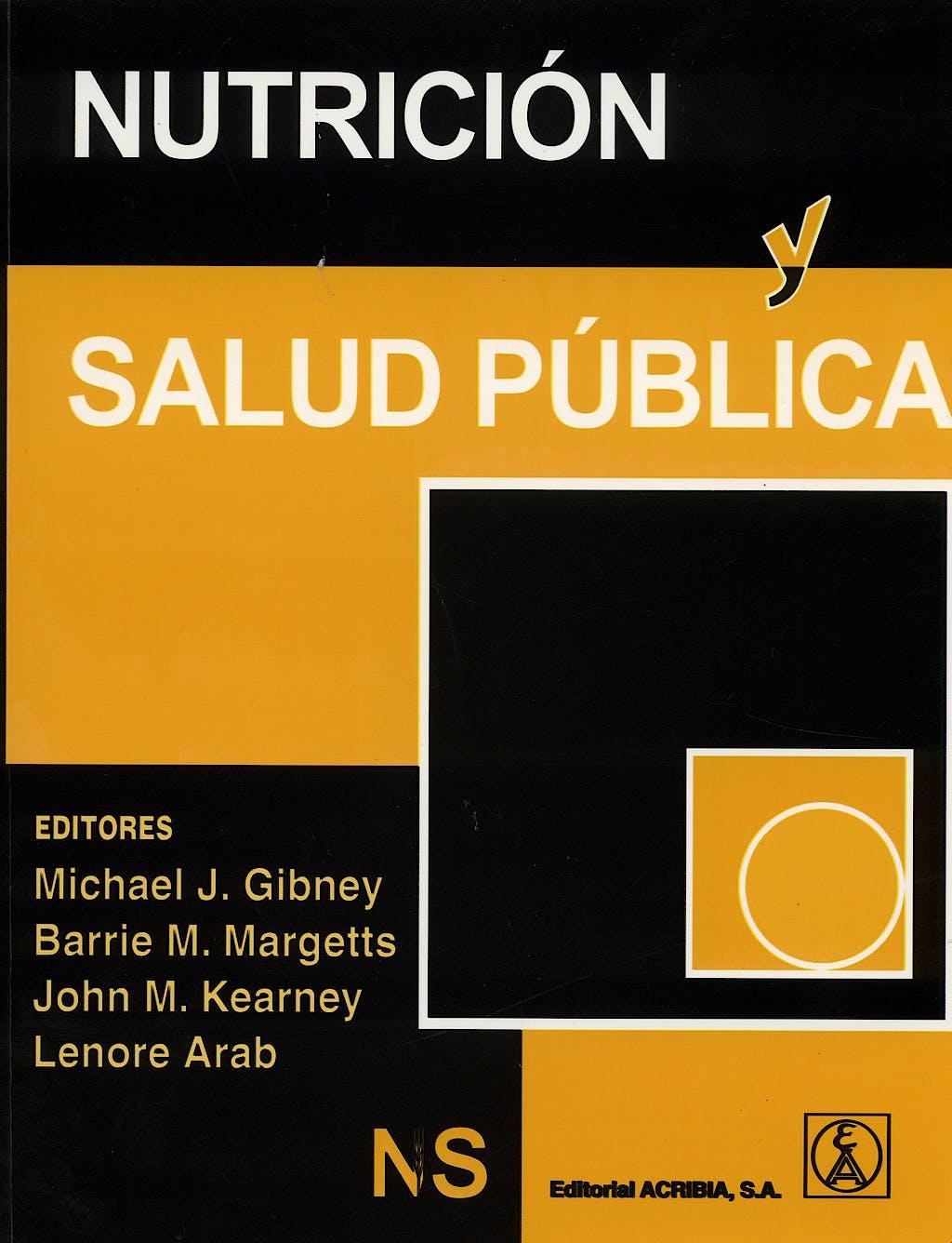 Portada del libro 9788420010786 Nutrición y Salud Pública