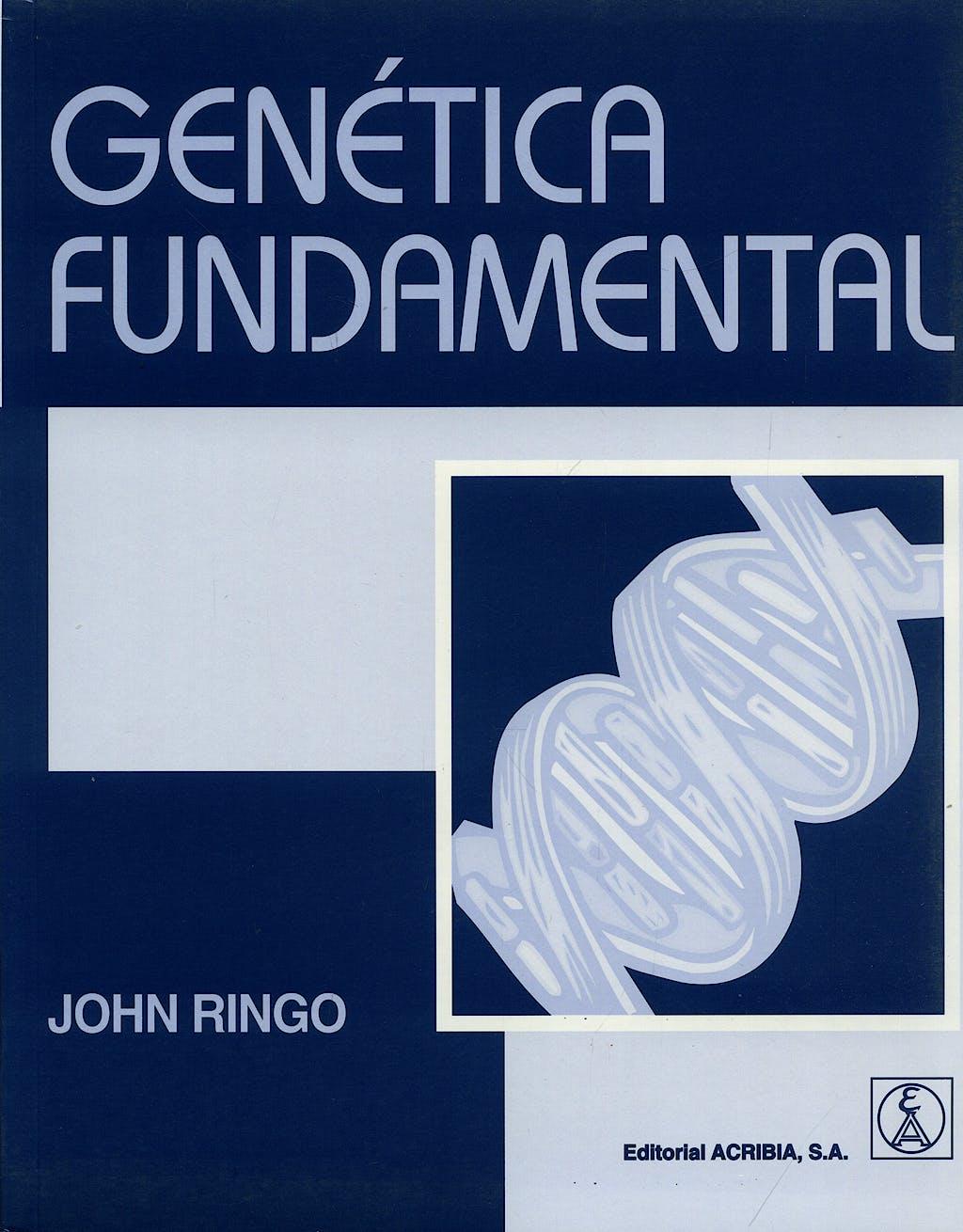 Portada del libro 9788420010854 Genetica Fundamental