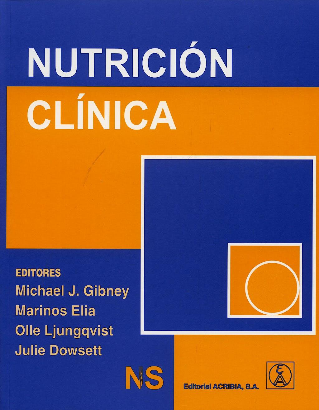 Portada del libro 9788420010922 Nutricion Clinica