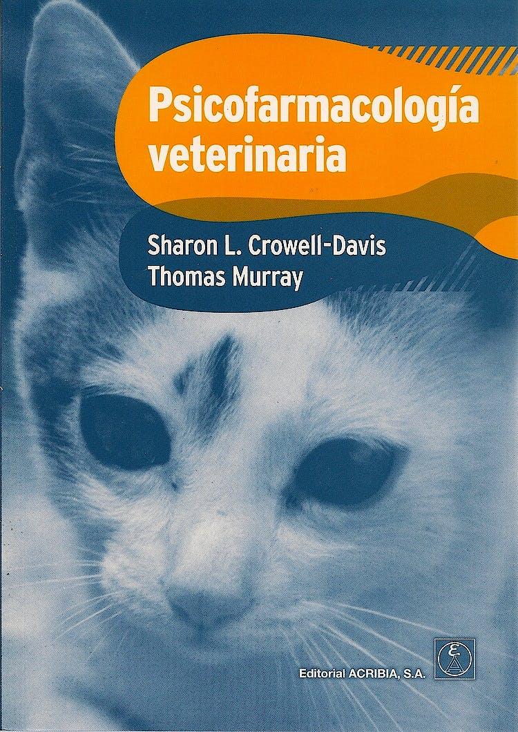 Portada del libro 9788420010984 Psicofarmacologia Veterinaria