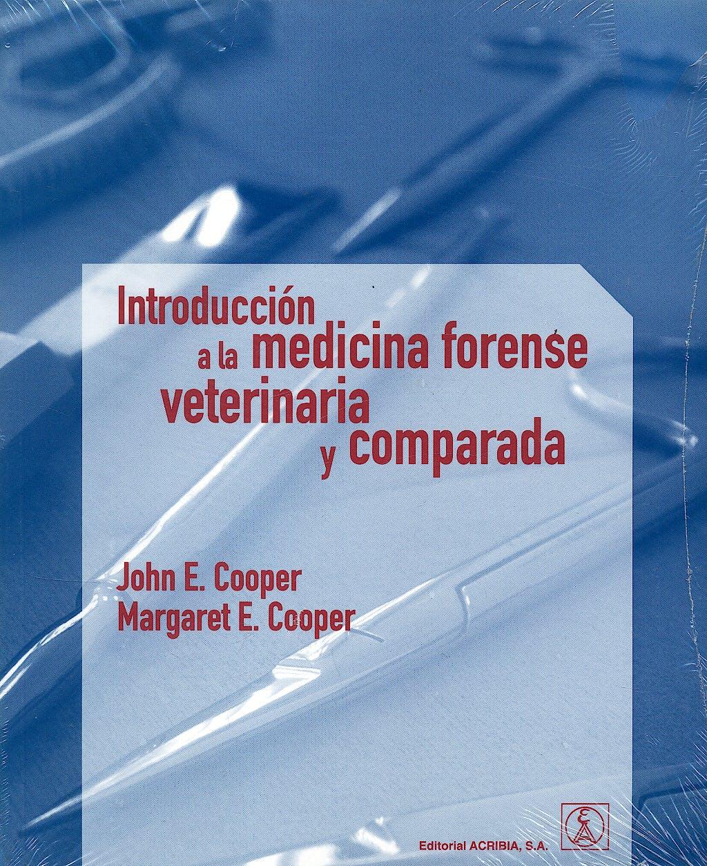 Portada del libro 9788420011202 Introducción a la Medicina Forense Veterinaria y Comparada