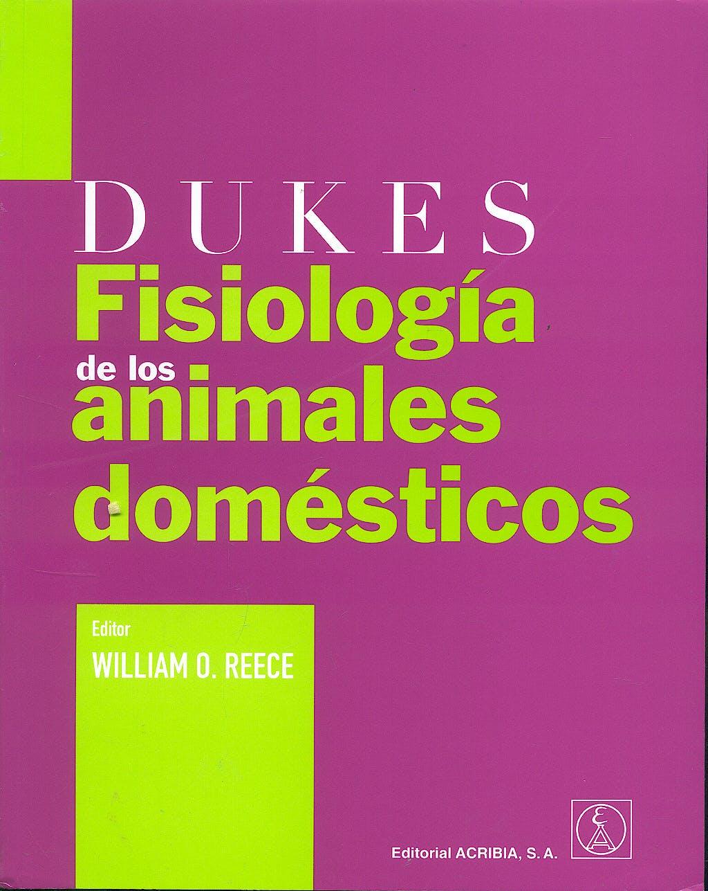 Portada del libro 9788420011349 Dukes Fisiología de los Animales Domésticos