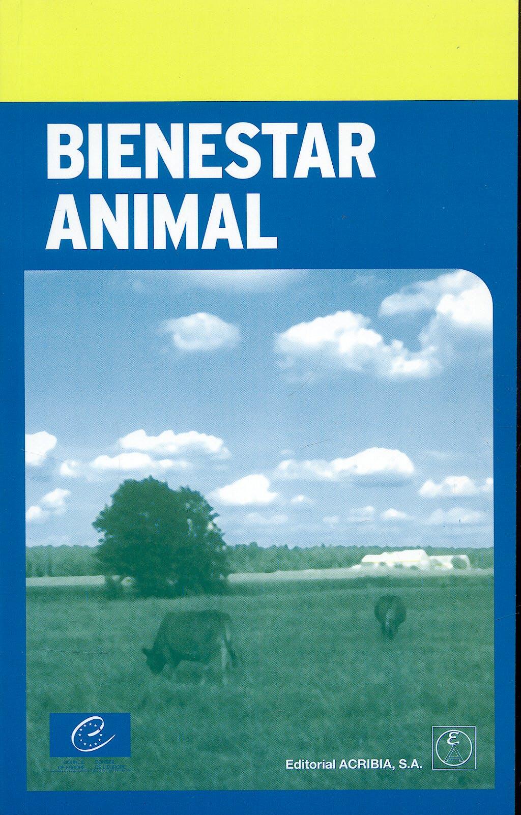 Portada del libro 9788420011363 Bienestar Animal