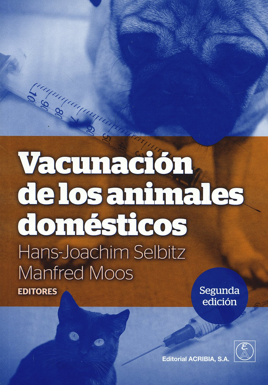 Portada del libro 9788420011431 Vacunacion de los Animales Domesticos