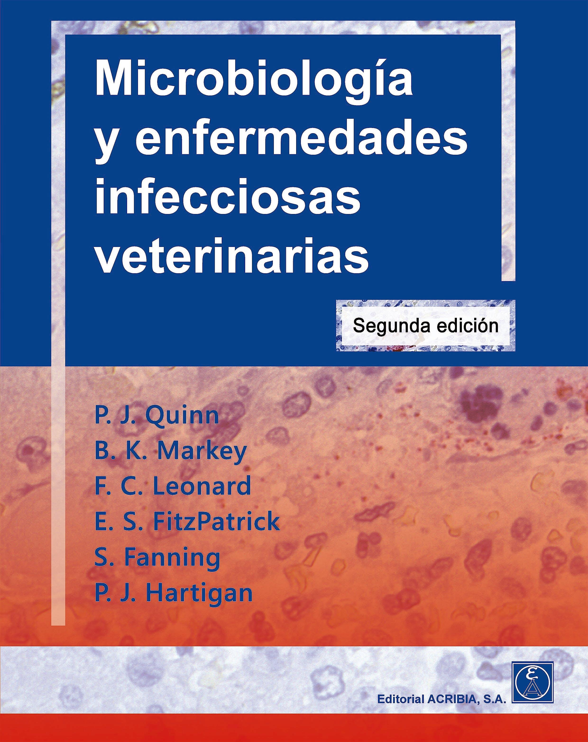 Portada del libro 9788420011783 Microbiología y Enfermedades Infecciosas Veterinarias