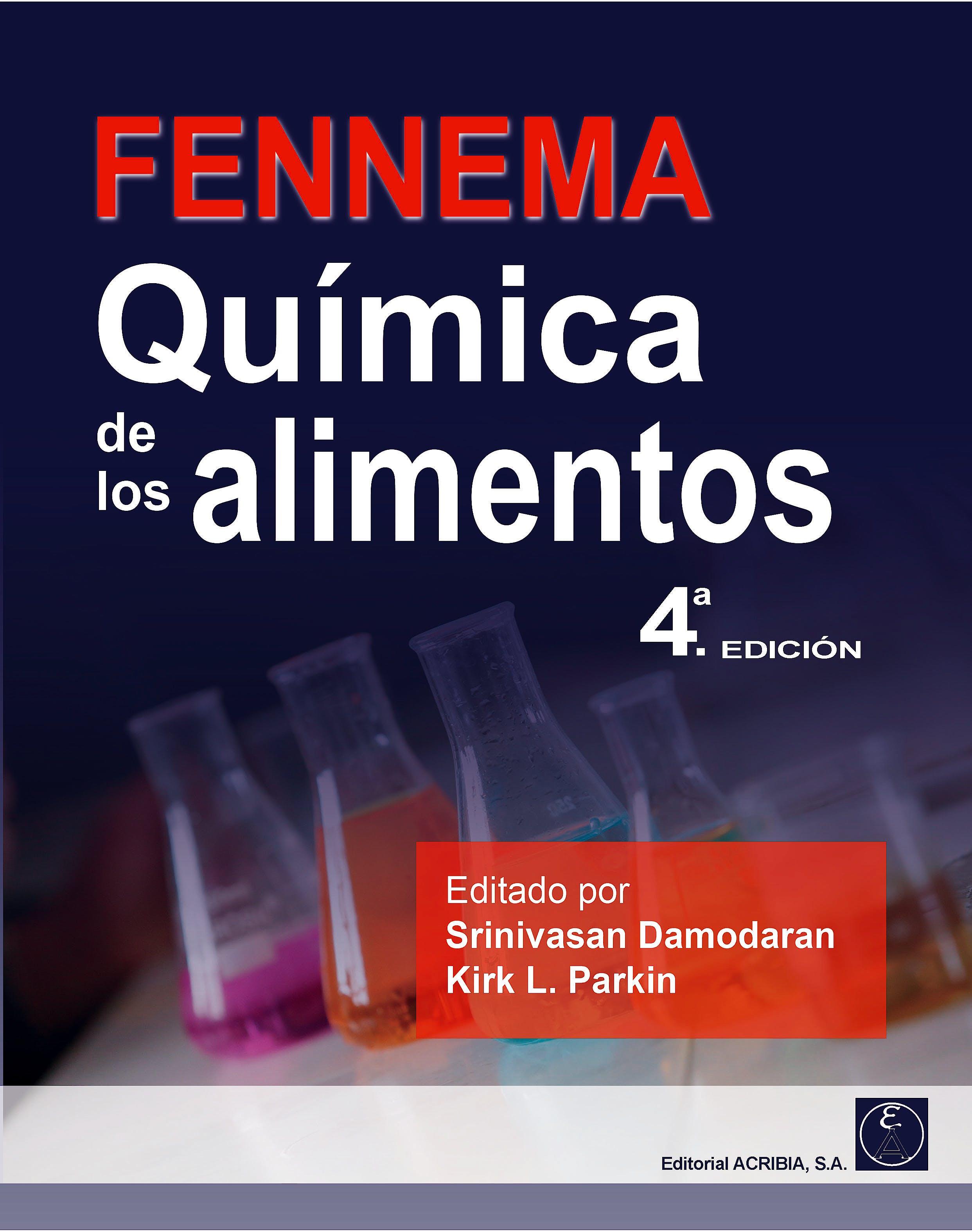 Portada del libro 9788420011929 FENNEMA Química de los Alimentos
