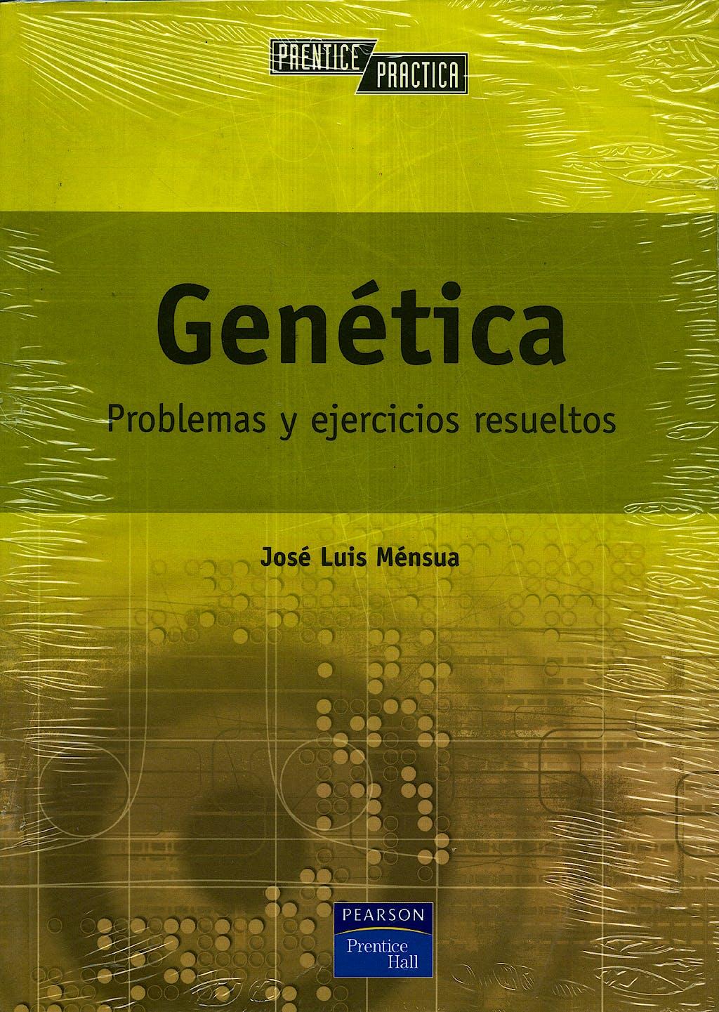 Portada del libro 9788420533414 Genetica. Problemas y Ejercicios Resueltos