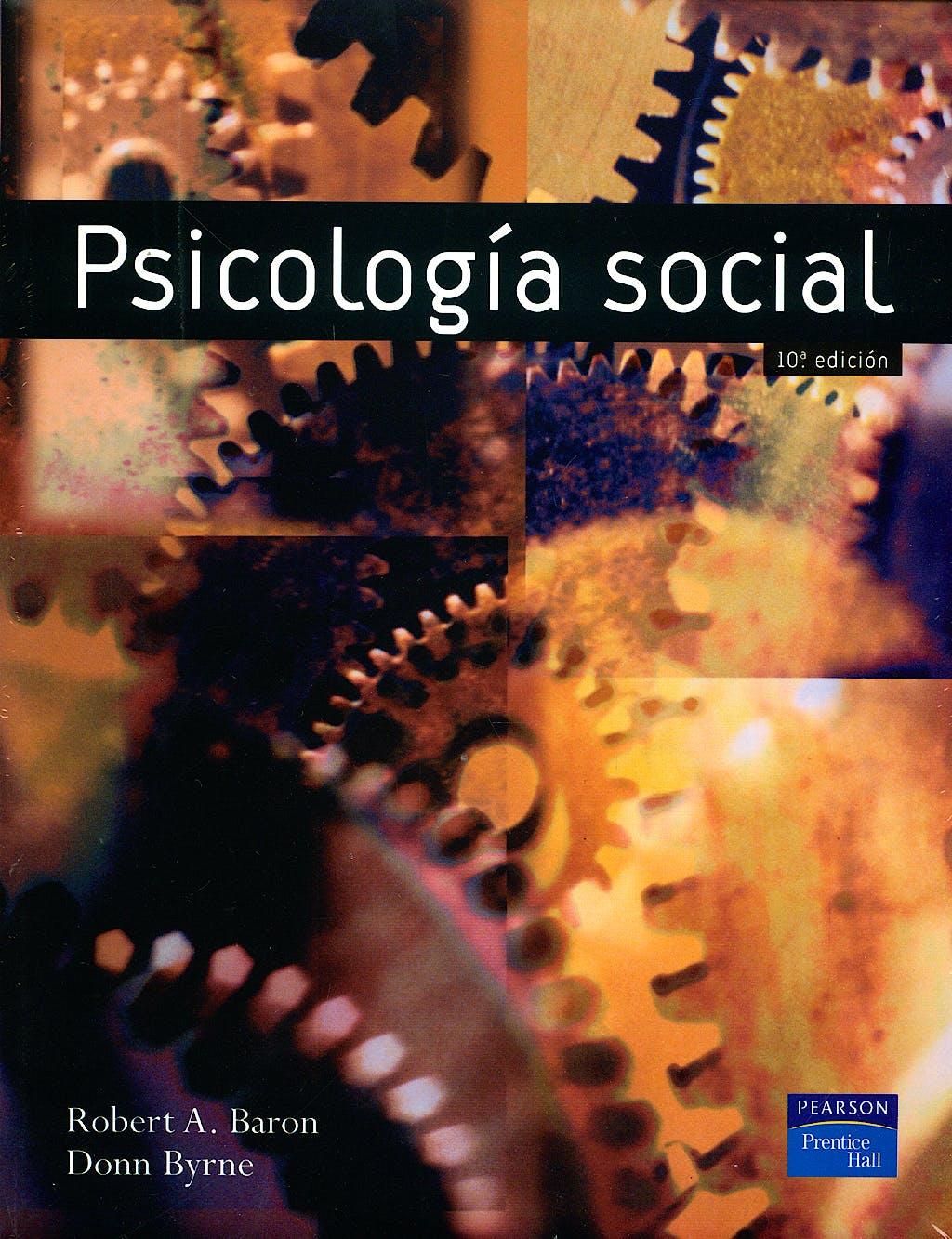 Portada del libro 9788420543321 Psicologia Social