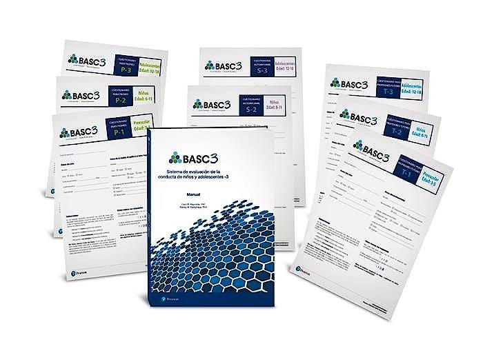Portada del libro 9788420572093 BASC-3. Sistema de Evaluación de la Conducta de Niños y Adolescentes-3