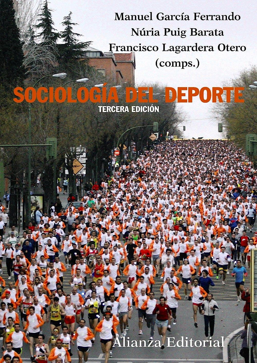 Portada del libro 9788420682792 Sociologia del Deporte