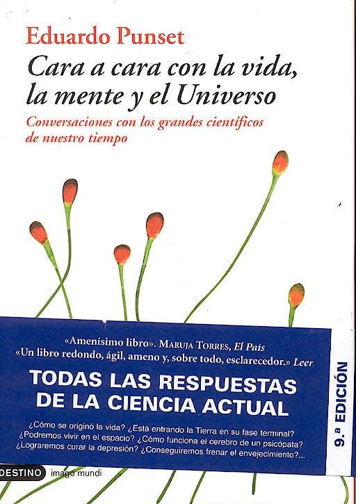 Portada del libro 9788423336647 Cara a Cara con la Vida, la Mente y el Universo