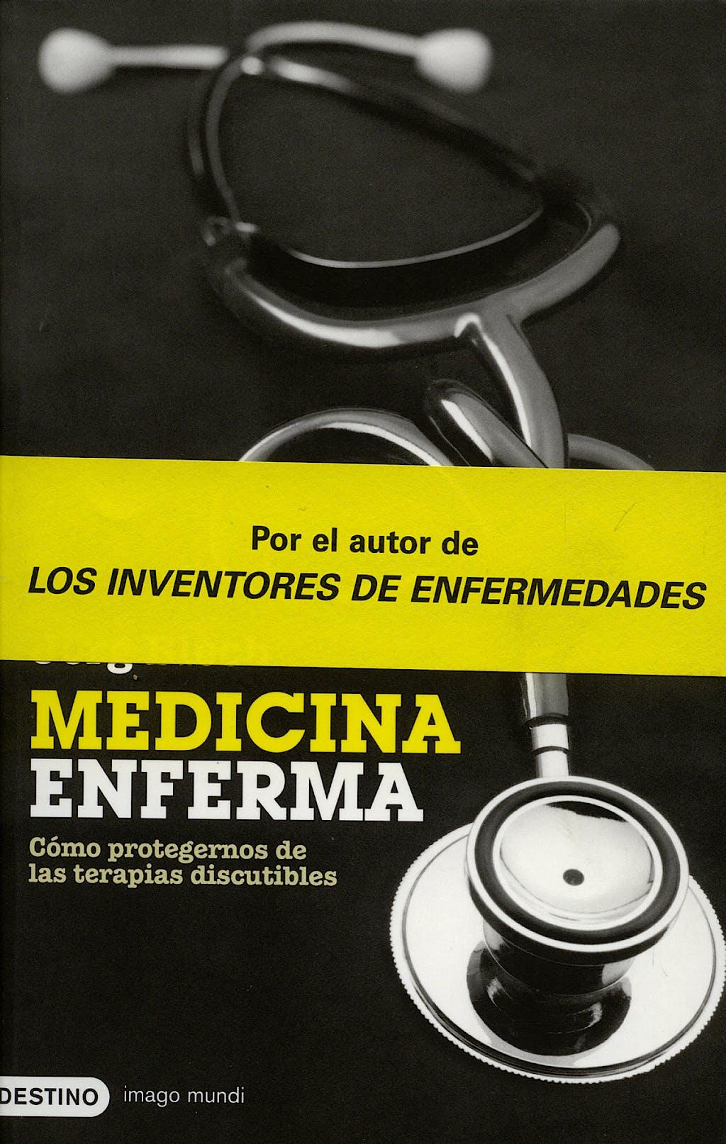 Portada del libro 9788423339112 Medicina Enferma