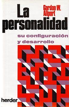 Portada del libro 9788425404214 La Personalidad.  Su Configuración y Desarrollo
