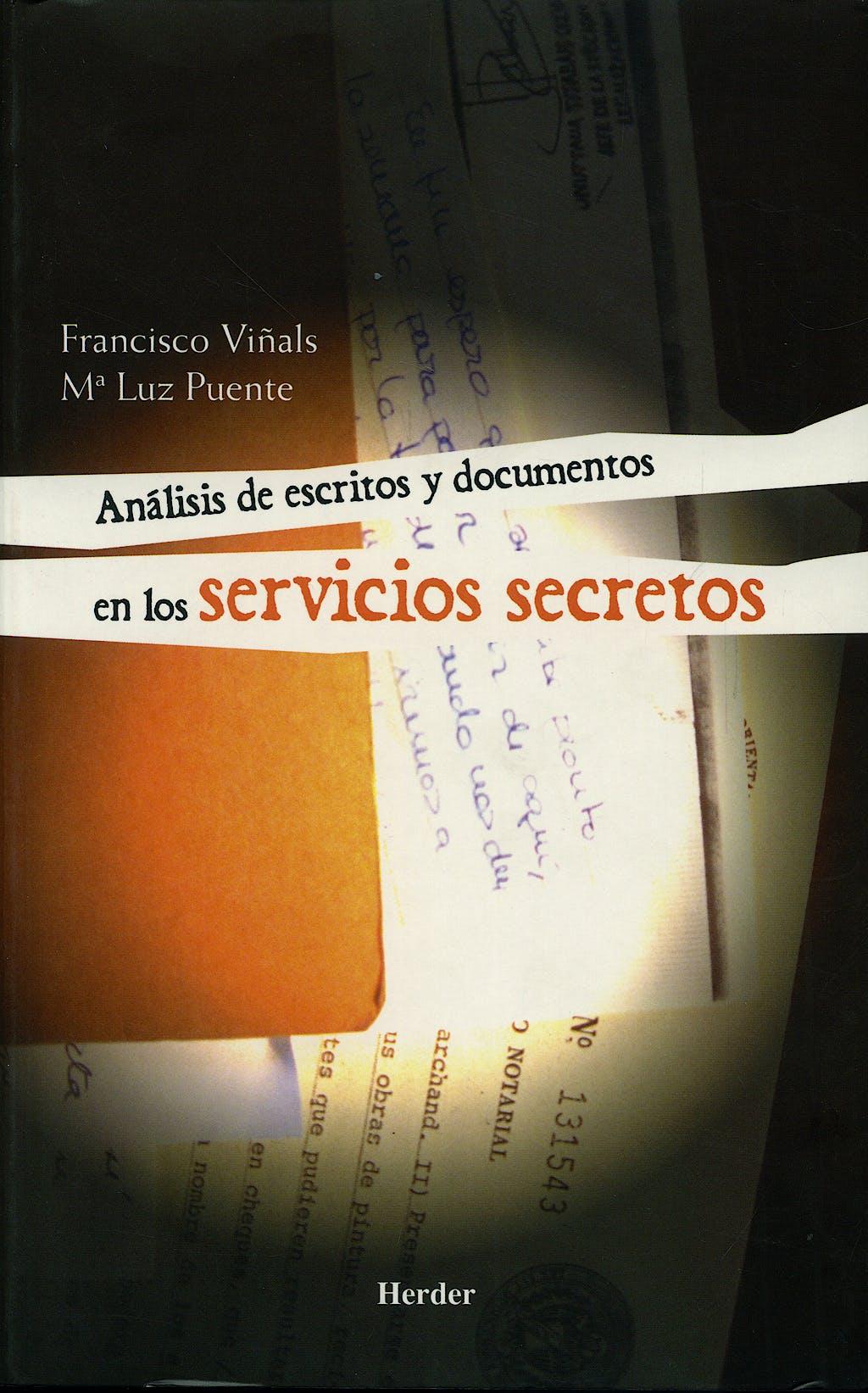 Portada del libro 9788425423192 Analisis de Escritos y Documentos en los Servicios Secretos