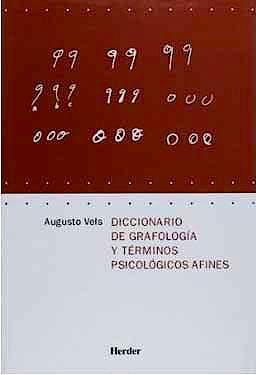Portada del libro 9788425424014 Diccionario de Grafologia y Terminos Psicologicos Afines
