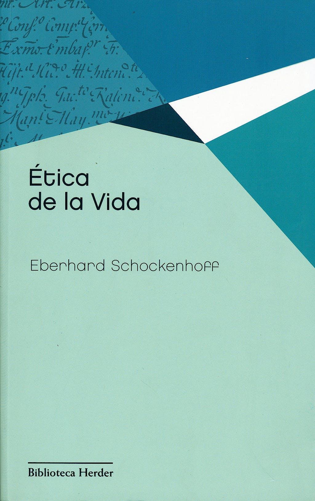 Portada del libro 9788425427558 Etica de la Vida