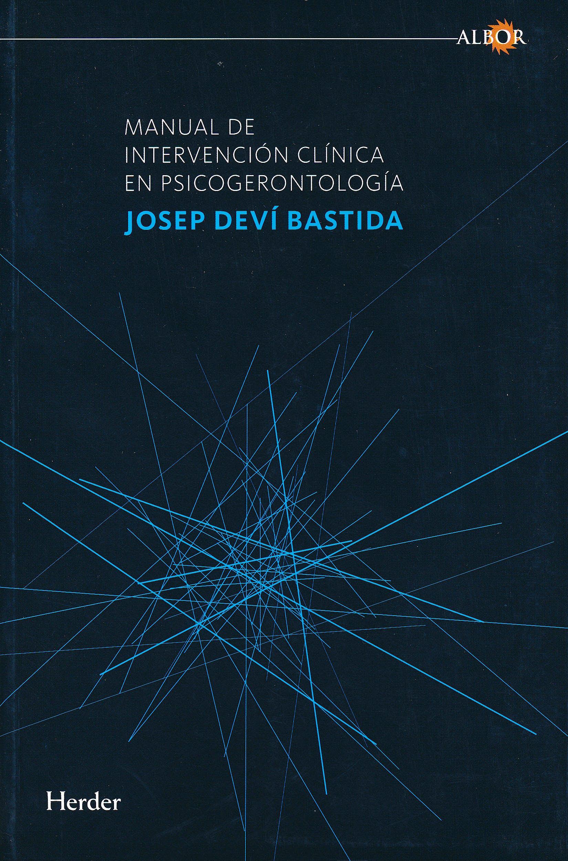 Portada del libro 9788425428517 Manual de Intervencion Clinica en Psicogerontologia