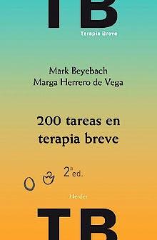 Portada del libro 9788425438257 200 Tareas en Terapia Breve