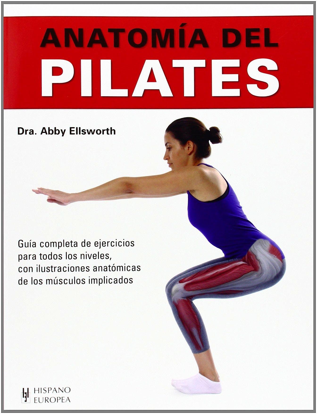 Portada del libro 9788425520815 Anatomía del Pilates