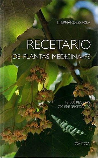 Portada del libro 9788428209120 Recetario de Plantas Medicinales