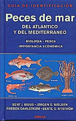 Portada del libro 9788428211611 Peces de Mar del Atlantico y del Mediterraneo. Guia de Identificacion