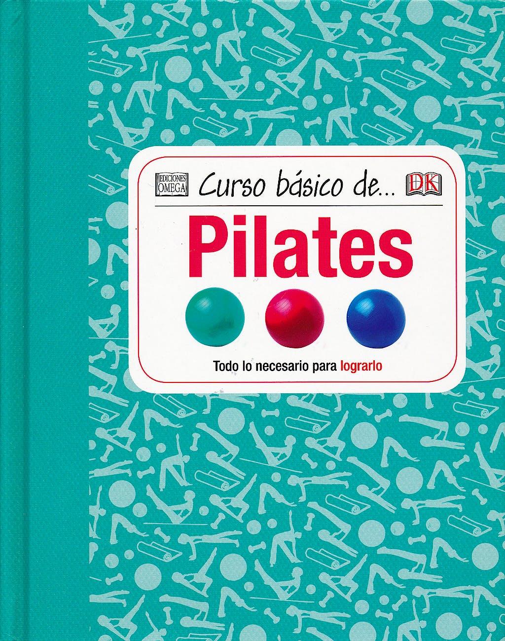 Portada del libro 9788428216142 Curso Basico de… Pilates
