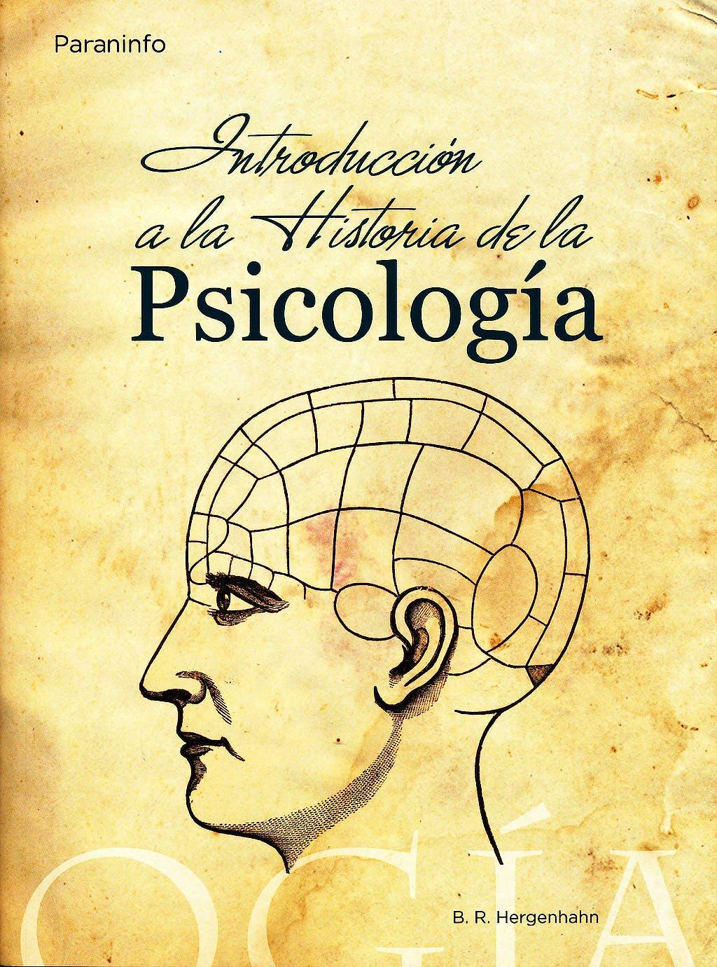 Portada del libro 9788428327602 Introduccion a la Historia de la Psicologia