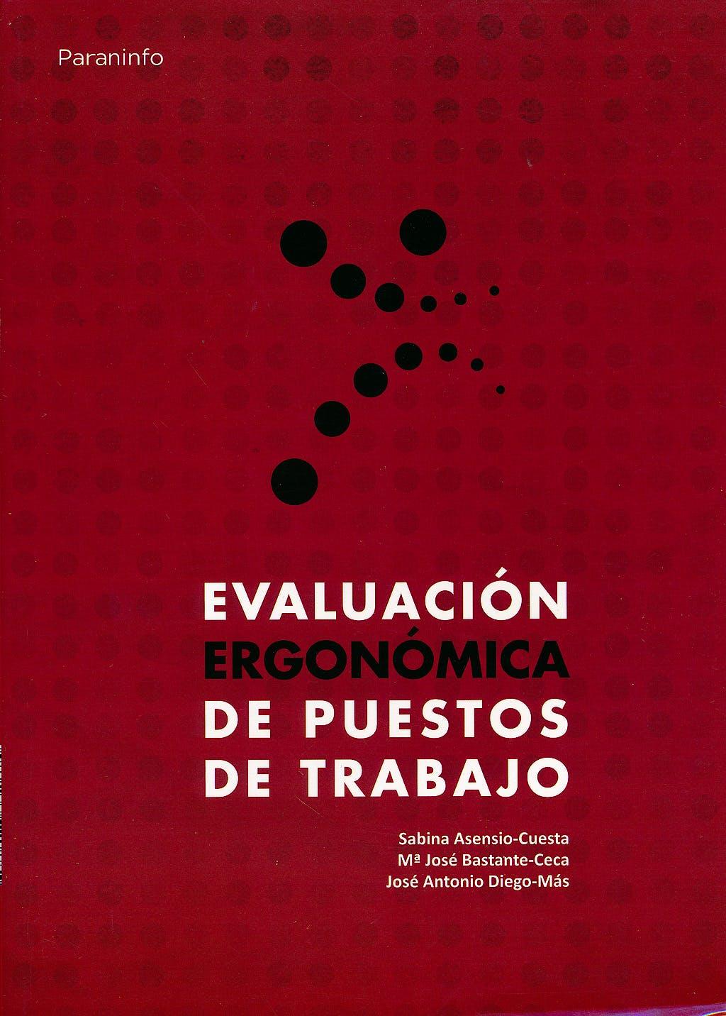 Portada del libro 9788428332675 Evaluación Ergonómica de Puestos de Trabajo