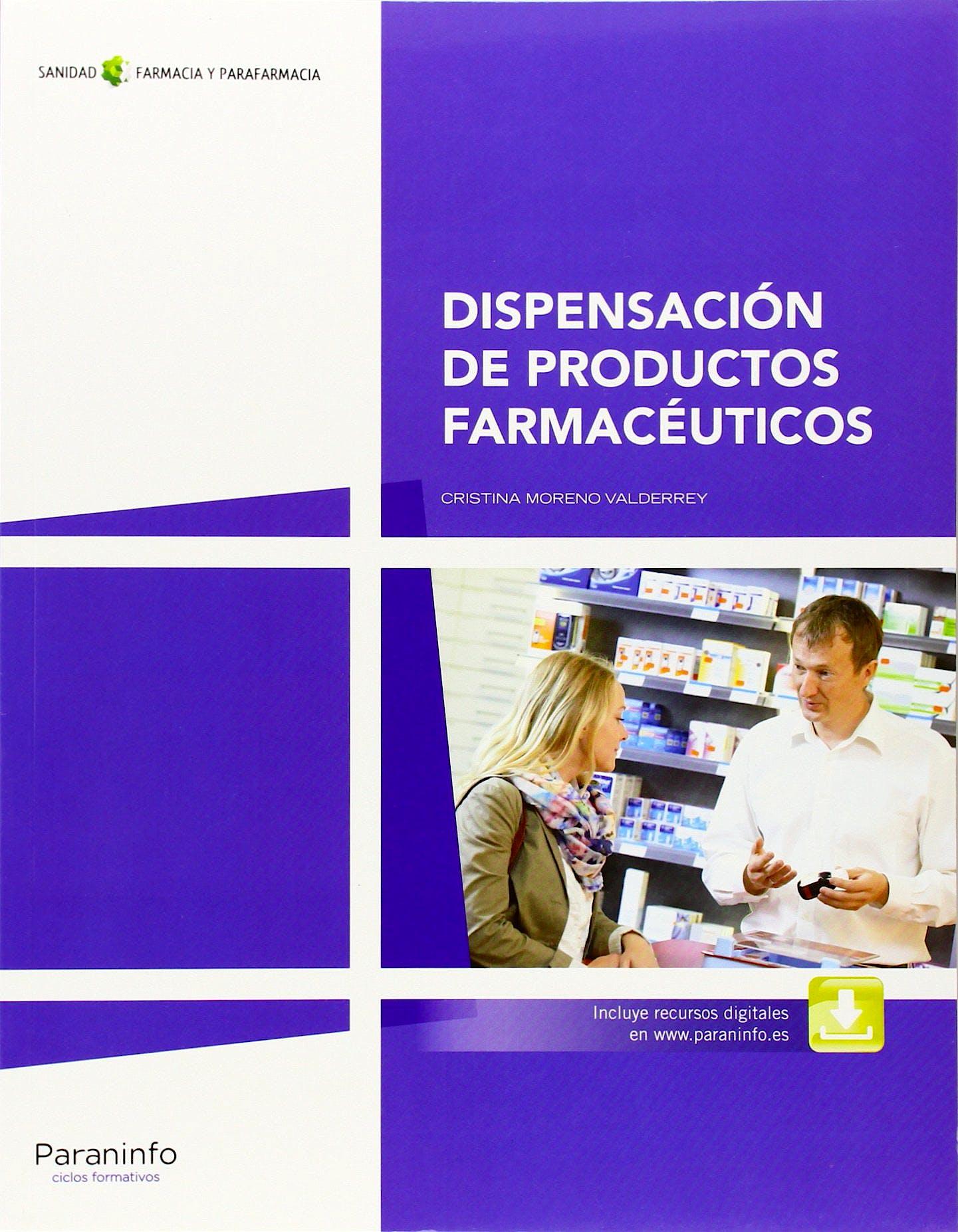 Portada del libro 9788428334365 Dispensacion de Productos Farmaceuticos