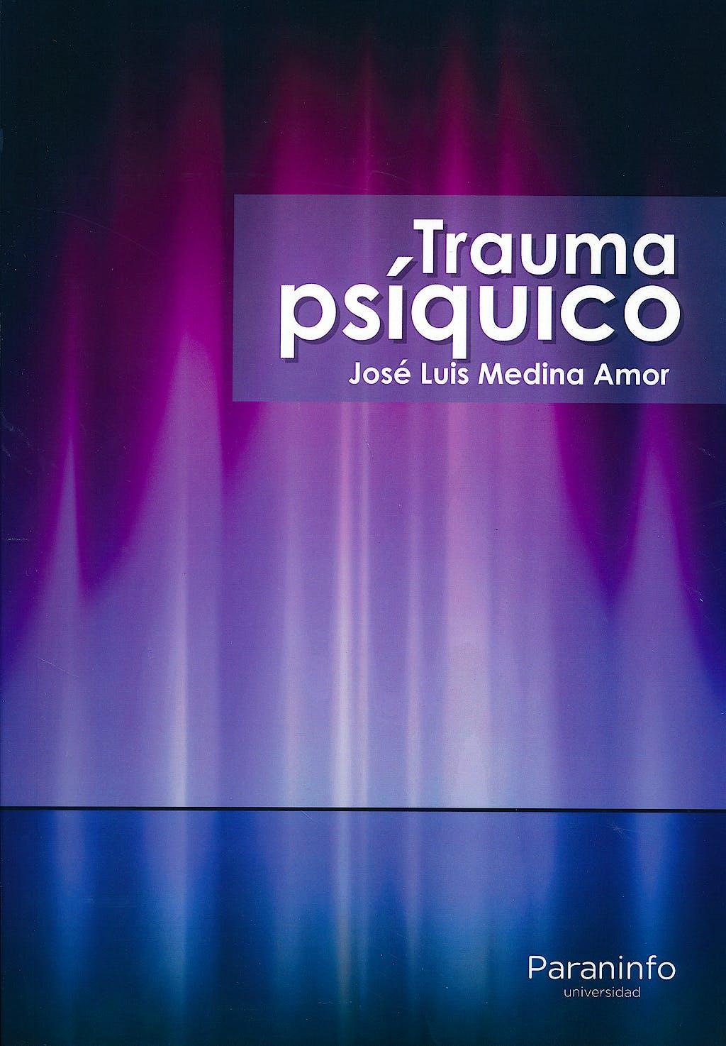 Portada del libro 9788428337298 Trauma Psiquico