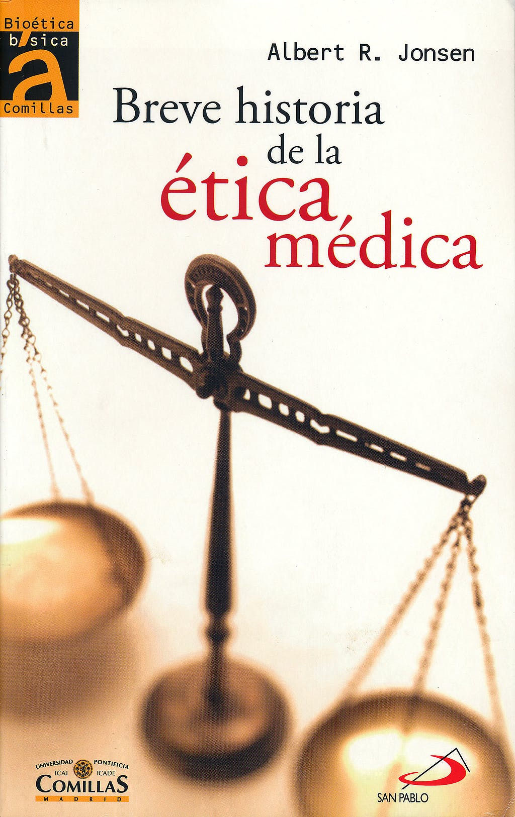 Portada del libro 9788428537704 Breve Historia de la Etica Medica