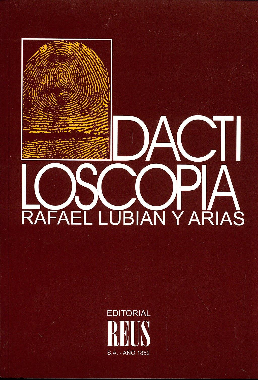 Portada del libro 9788429014501 Dactiloscopia