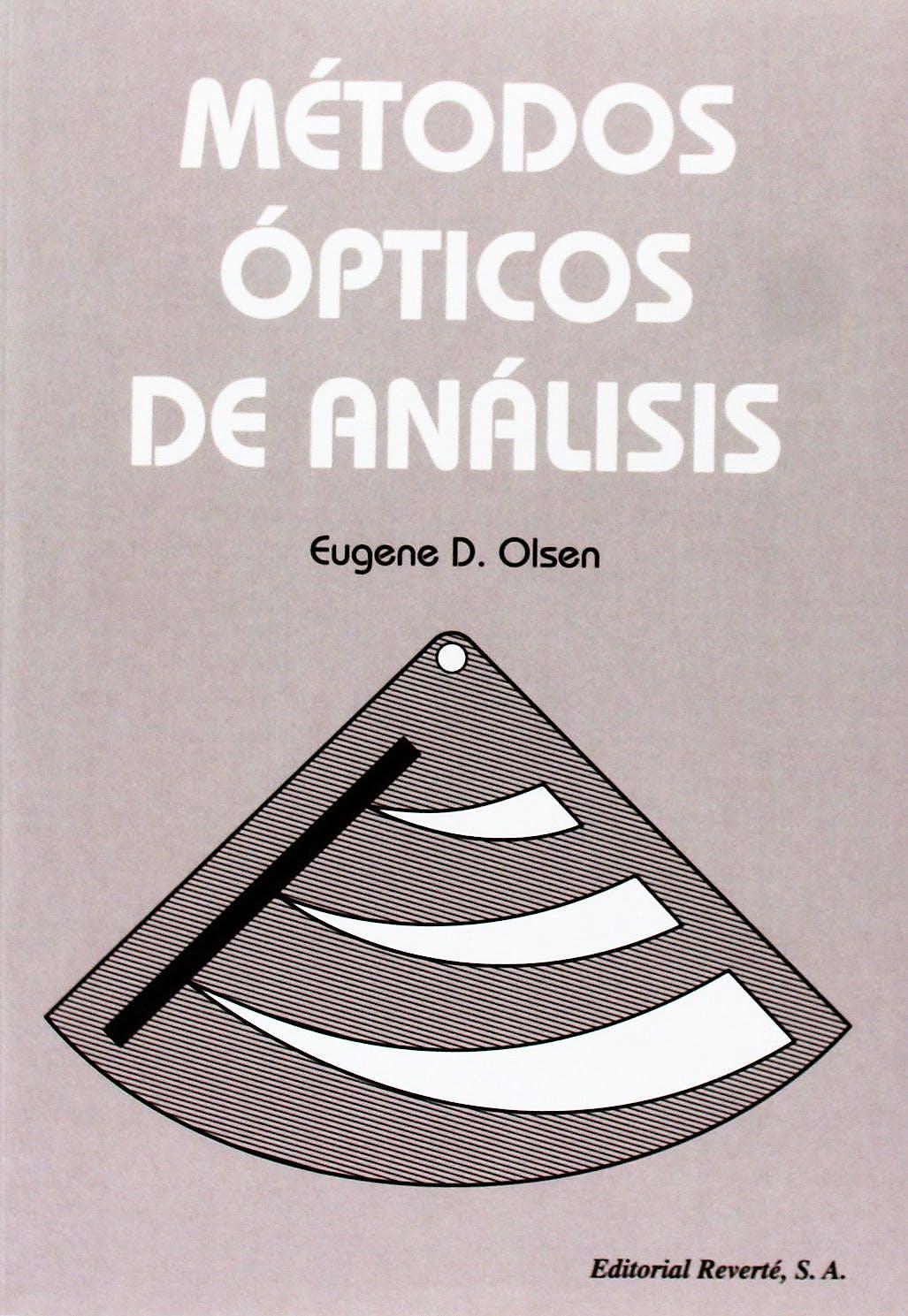 Portada del libro 9788429143249 Metodos Opticos de Analisis