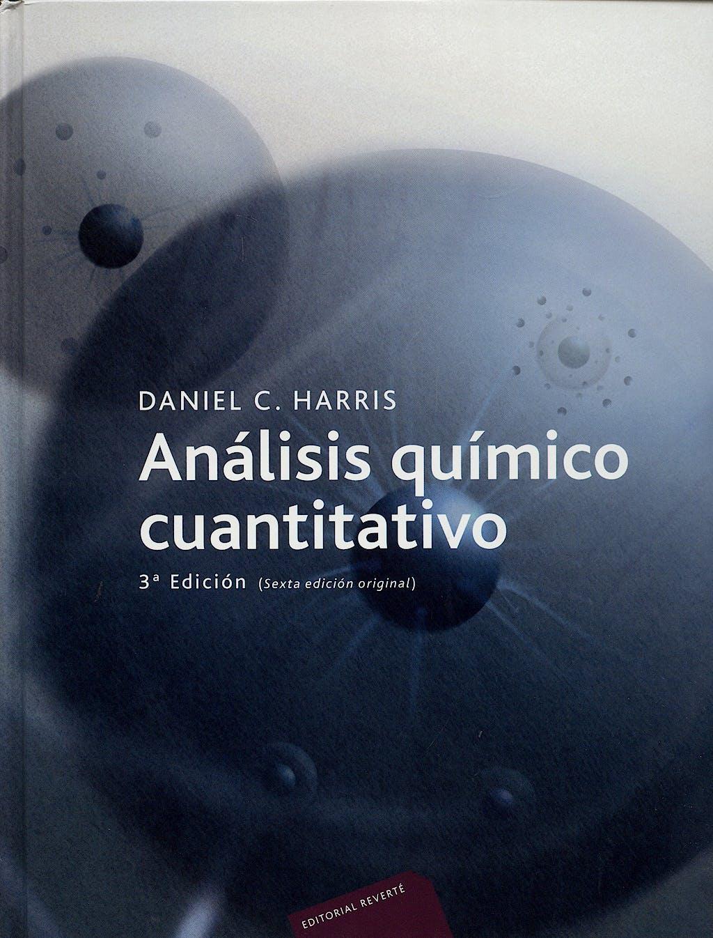 Portada del libro 9788429172249 Análisis Químico Cuantitativo