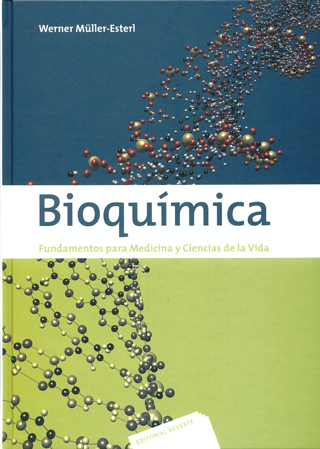 Portada del libro 9788429173932 Bioquimica. Fundamentos para Medicina y Ciencias de la Vida