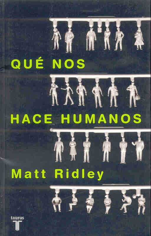 Portada del libro 9788430605422 Que Nos Hace Humanos