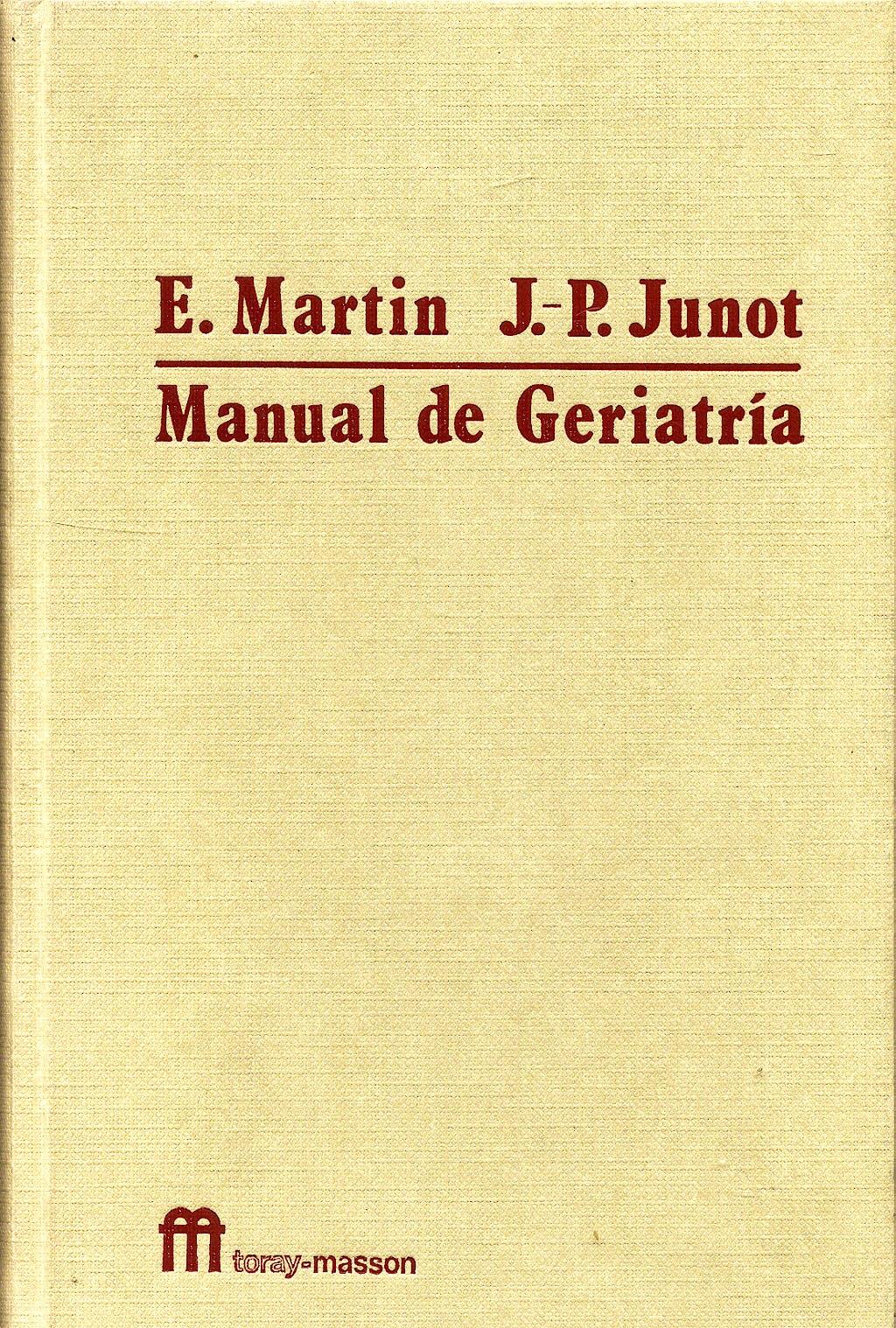 Portada del libro 9788431101961 Manual de Geriatría