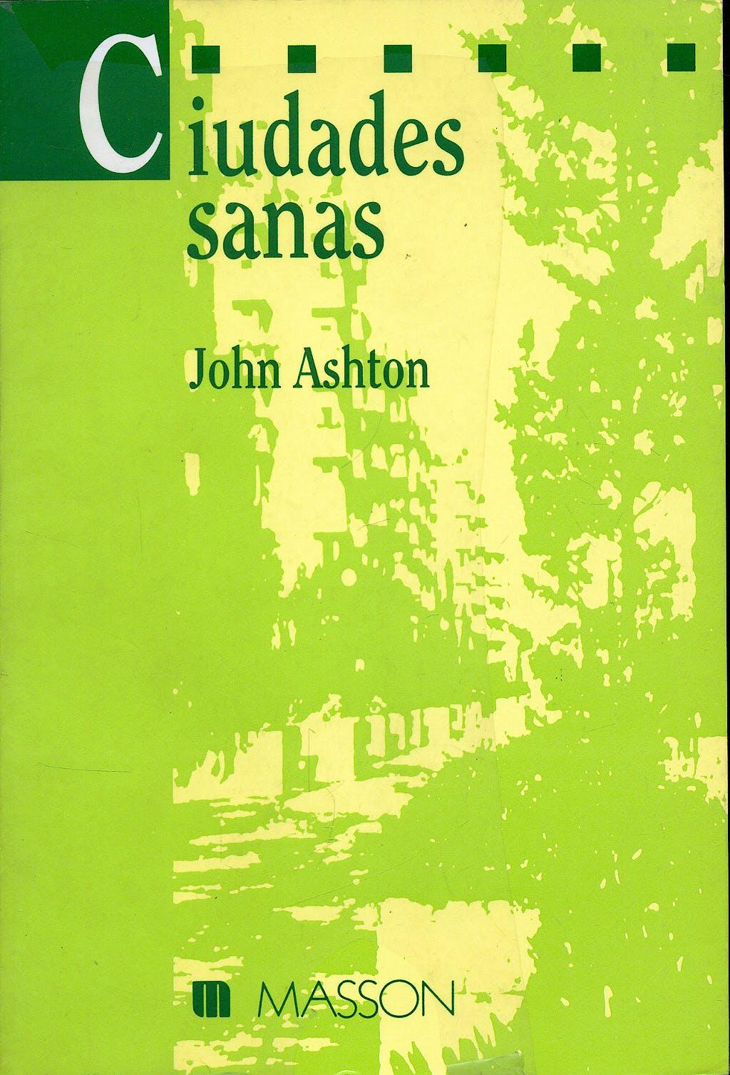 Portada del libro 9788431106690 Ciudades Sanas