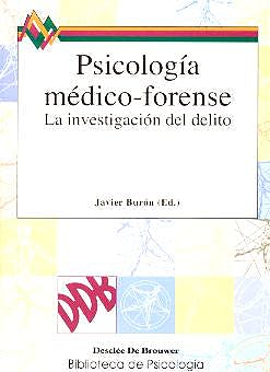 Portada del libro 9788433018199 Psicologia Medico-Forense. la Investigacion del Delito