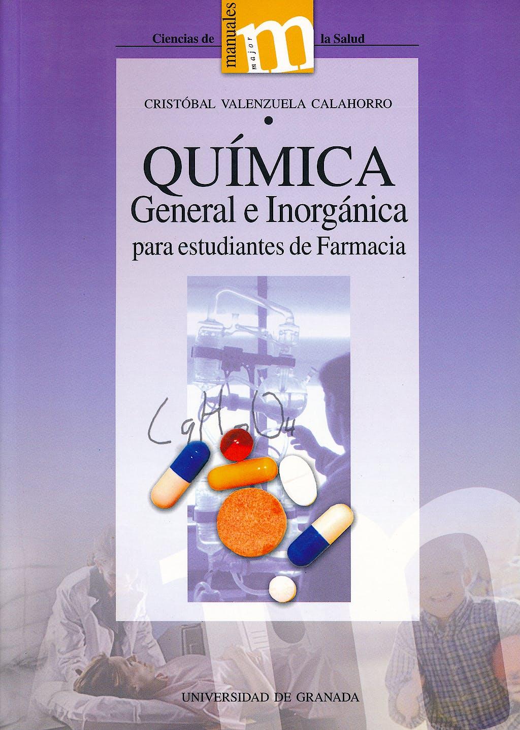 Portada del libro 9788433829054 Química General e Inorgánica para Estudiantes de Farmacia