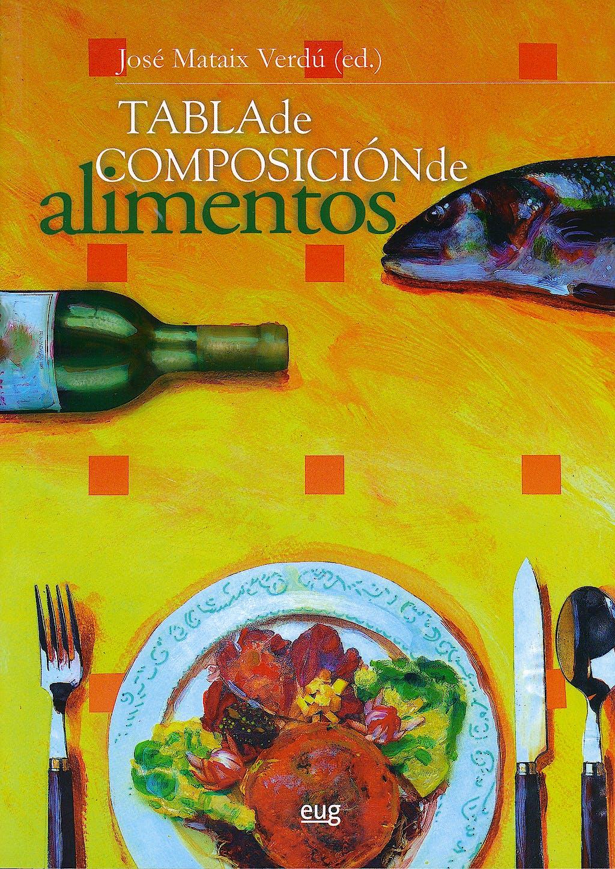 Portada del libro 9788433849809 Tabla de Composicion de Alimentos