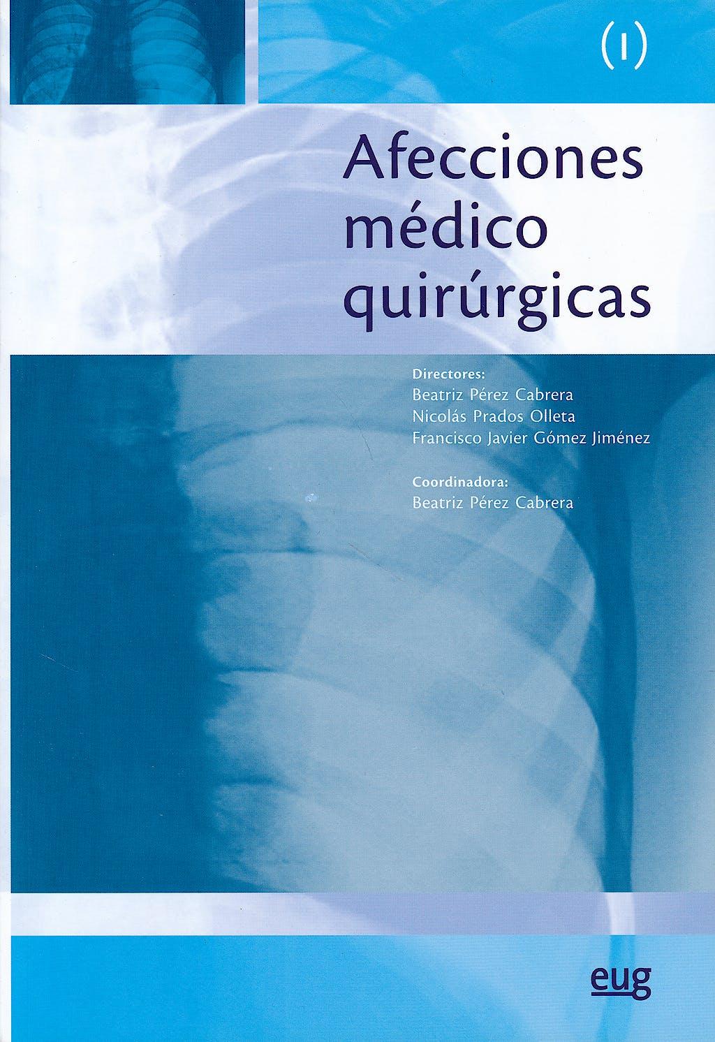 Portada del libro 9788433856838 Afecciones Medico Quirurgicas (I)