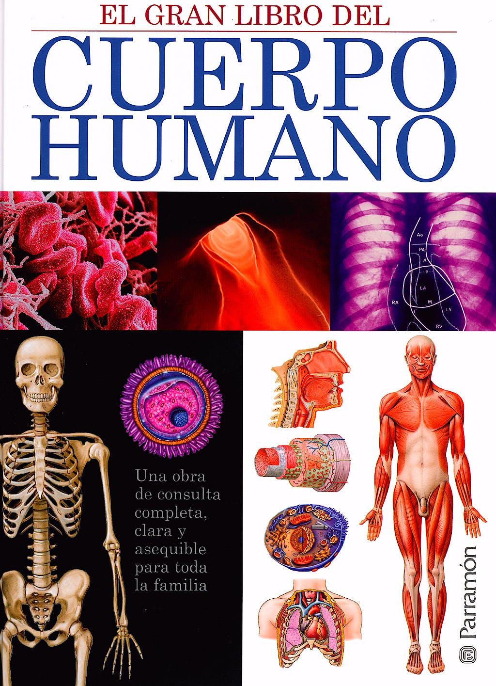 Portada del libro 9788434228689 El Gran Libro del Cuerpo Humano