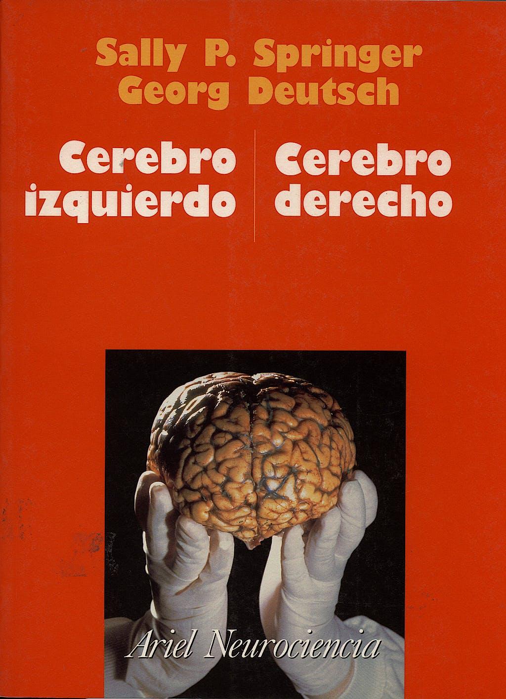 Portada del libro 9788434408920 El Cerebro Izquierdo y Cerebro Derecho