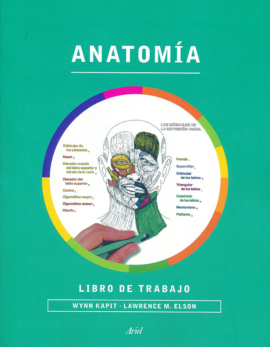 Portada del libro 9788434417229 Anatomía. Libro de Trabajo