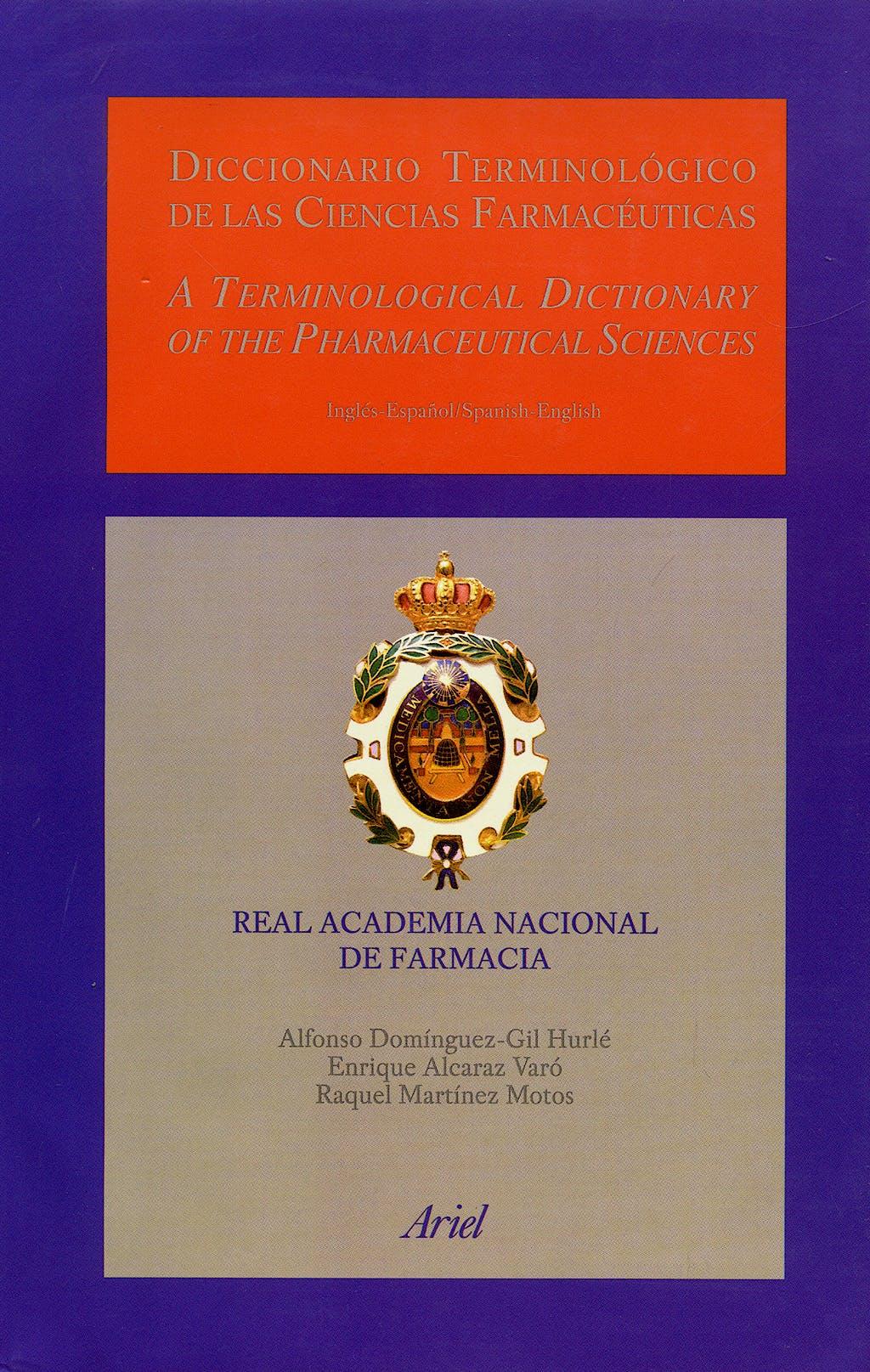 Portada del libro 9788434437241 Diccionario Terminológico de las Ciencias Farmacéuticas