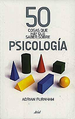 Portada del libro 9788434469075 50 Cosas que Hay que Saber sobre Psicologia