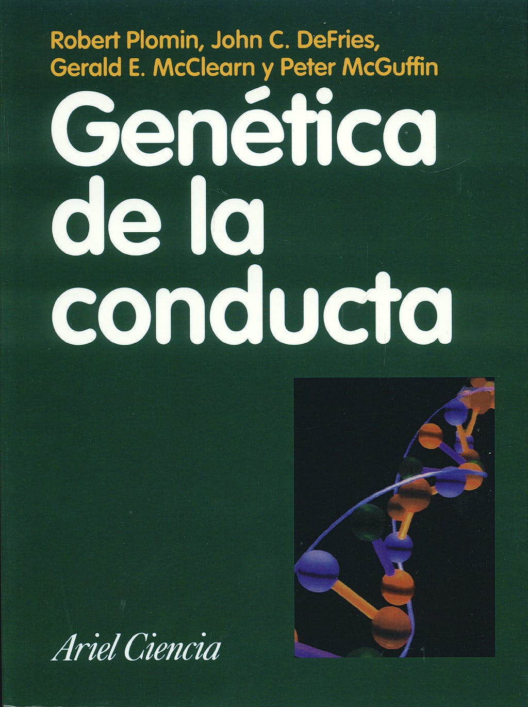 Portada del libro 9788434480339 Genetica de la Conducta